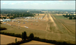 The Approach to Headcorn Airfield